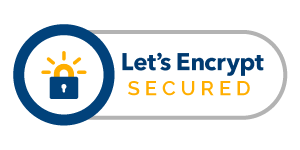 Website Secured by Let's Encrypt