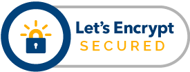 Website SSL certified and secured by Let's Encrypt